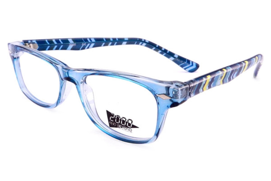 2000 and Beyond 2000 and Beyond 3056 Eyeglasses in Aqua