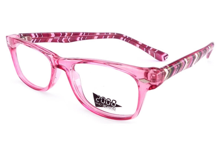 2000 and Beyond 2000 and Beyond 3056 Eyeglasses in Pink