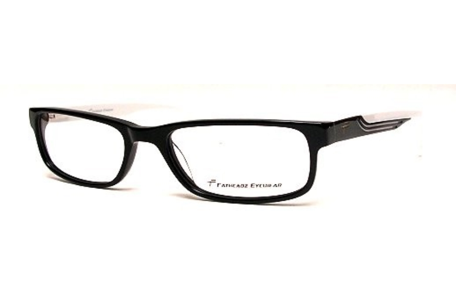 Fatheadz 206 Roi Eyeglasses in Black/white