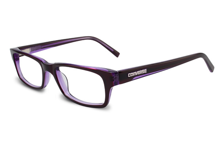 Converse Global Raw Image Eyeglasses in Purple