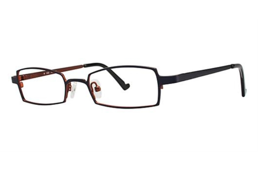 OGI Eyewear 2226 Eyeglasses in 1185 ROYAL PURPLE/BURNT ORANGE