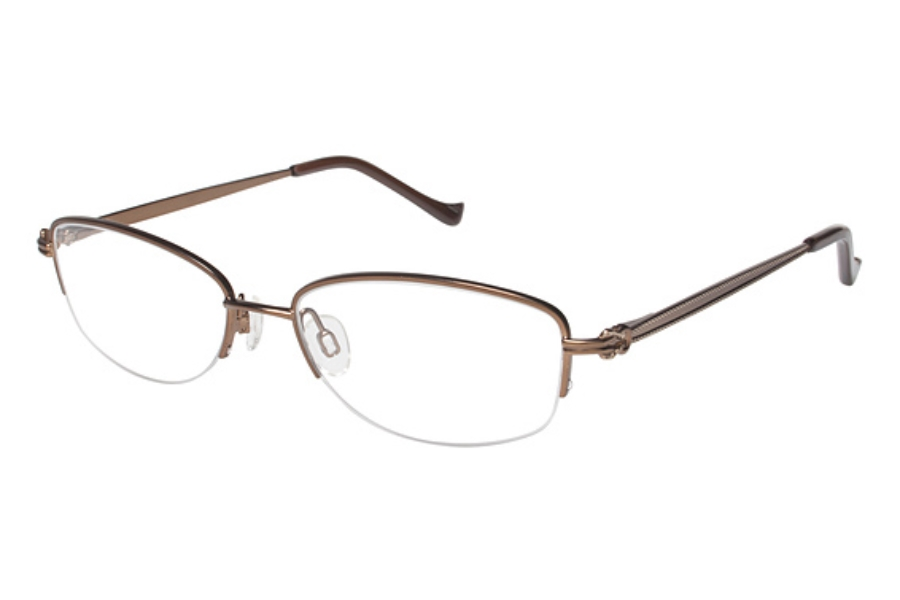 Tura R506 Eyeglasses in BRN Brown