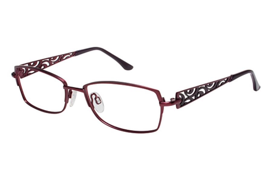 Tura R109 Eyeglasses in Burgundy