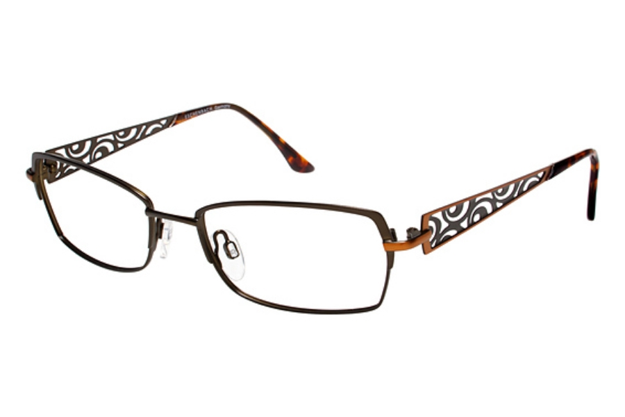 Tura R109 Eyeglasses in Brown (Discontinued)
