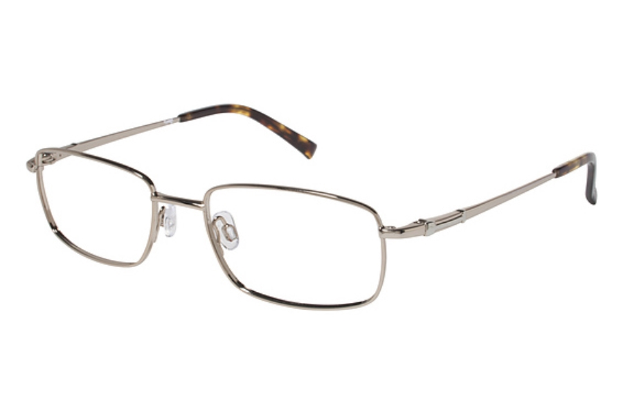 Tura Mens T120 Eyeglasses in GLD Gold