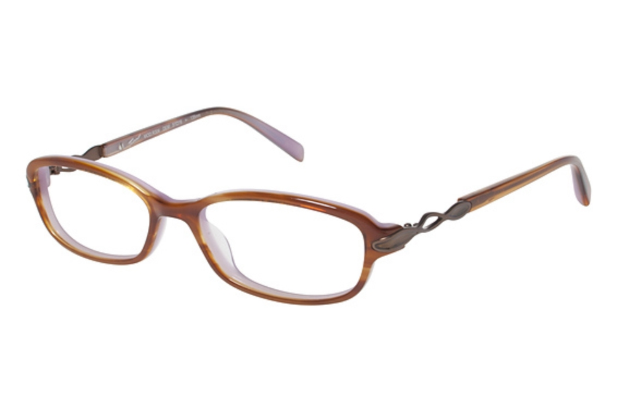 Tura R304 Eyeglasses in Demi Tortoise with Brown