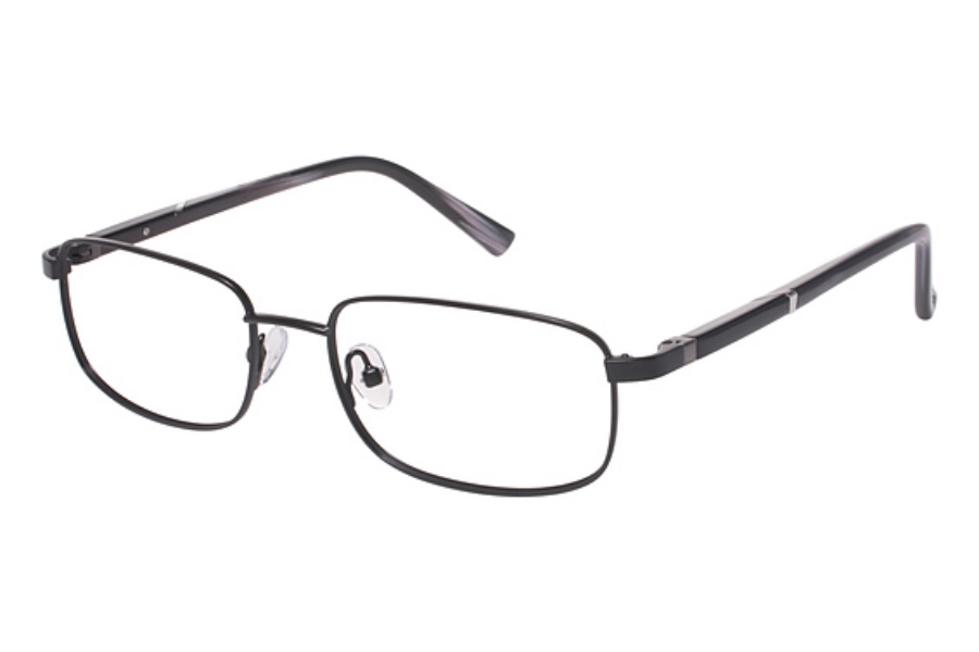 Tura Mens T119 Eyeglasses in BLK Black