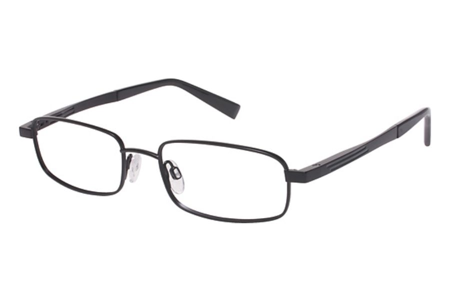 Tura Mens T124 Eyeglasses in Black