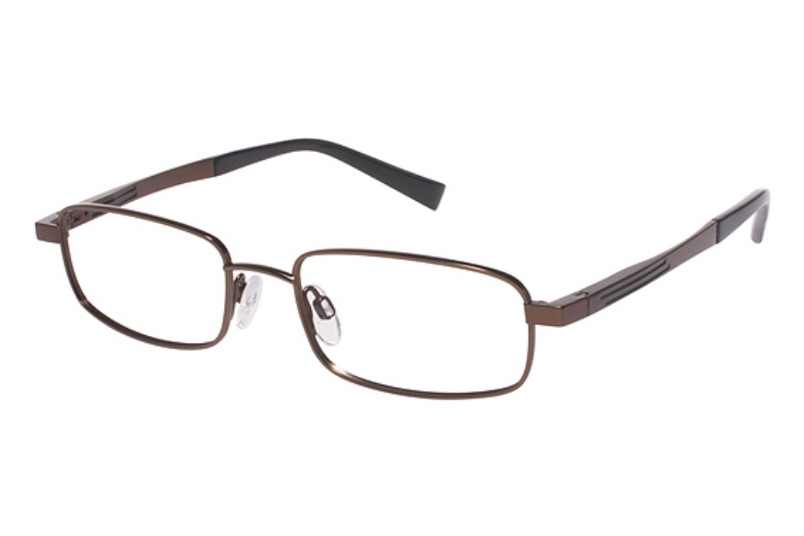 Tura Mens T124 Eyeglasses in Brown