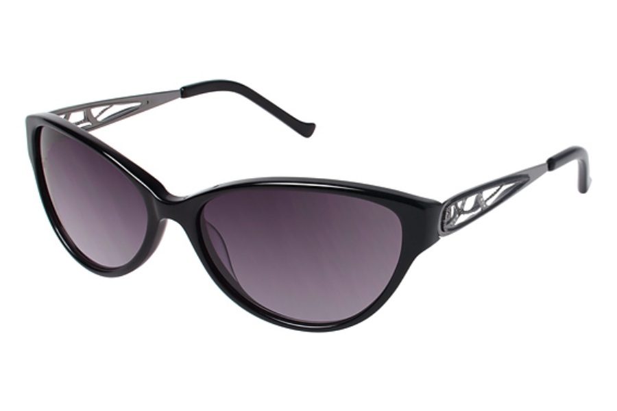 Tura 040 Sunglasses in BLK Black/Gun