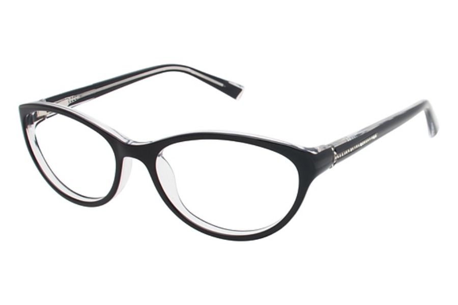 Tura R514 Eyeglasses in BLK Black