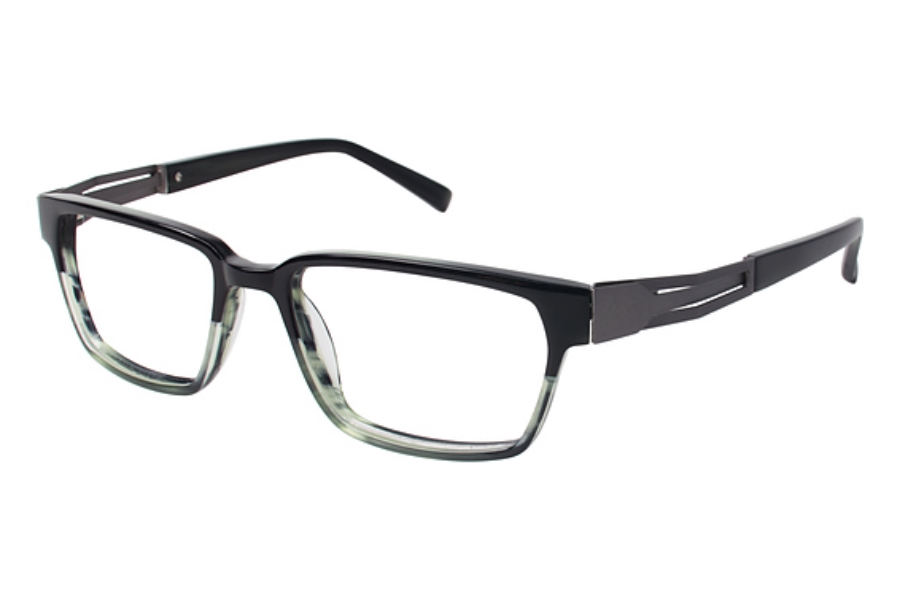 Tura Mens T131 Eyeglasses in HGR Hunter