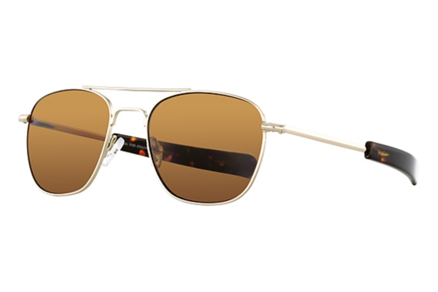 Visual Eyes VE-Stealth Sun Sunglasses in Yellow Gold