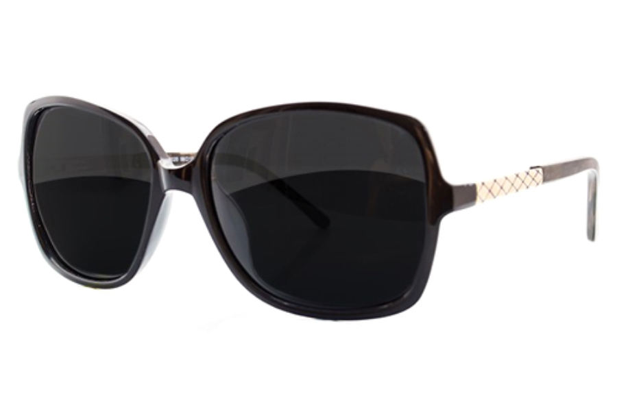 34 Degrees North CA6020 Sunglasses in Black
