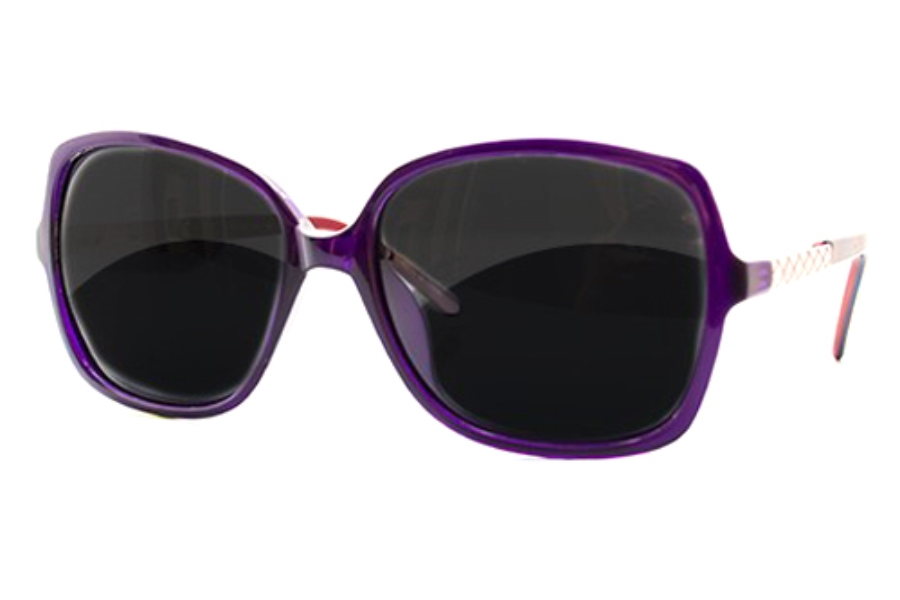 34 Degrees North CA6020 Sunglasses in Purple