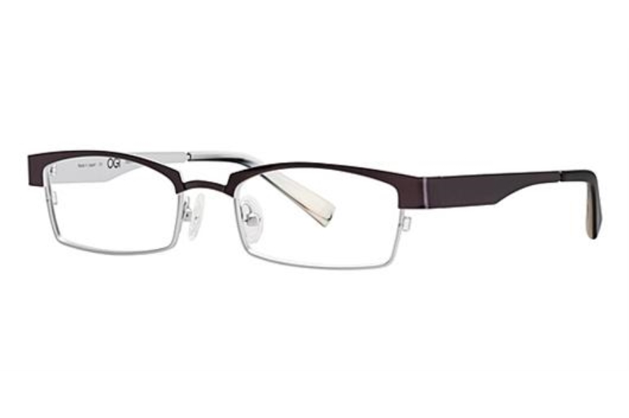 OGI Eyewear 4025 Eyeglasses in 1252 DARK GUNMETAL/LIGHT SILVER