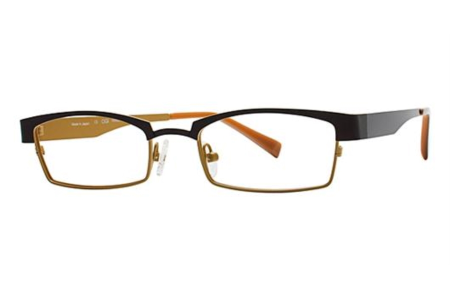 OGI Eyewear 4025 Eyeglasses in 1253 DARK BROWN/LIGHT BRONZE