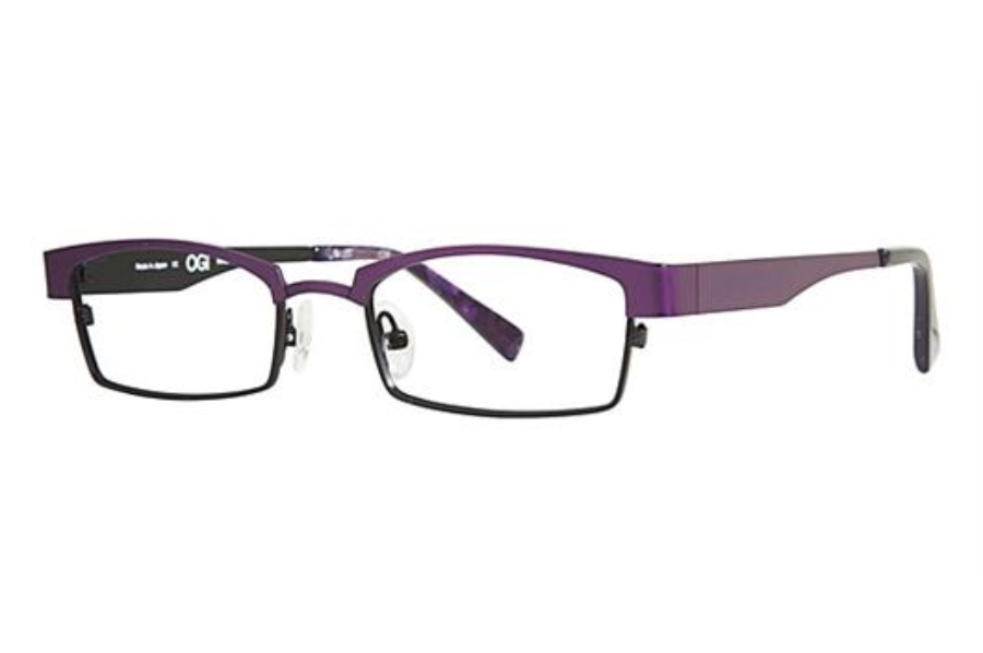 OGI Eyewear 4025 Eyeglasses in 965 DARK PURPLE/BLACK