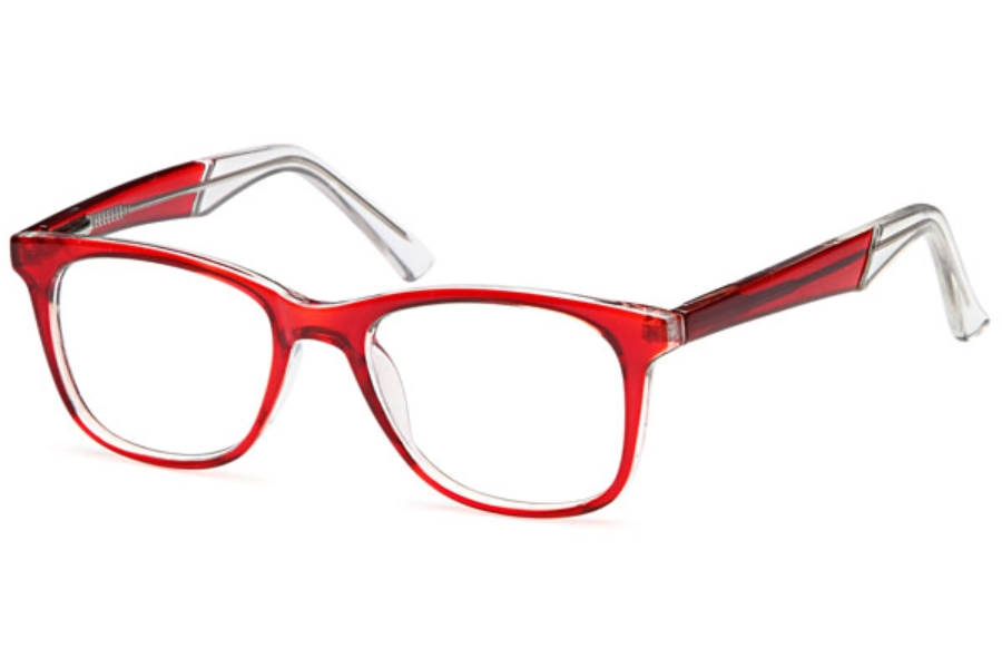 4U Four You US 78 Eyeglasses in Red