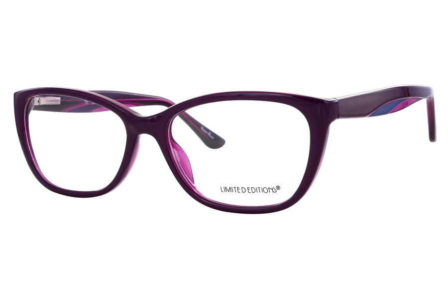 Limited Editions 74th Street Eyeglasses in Purple