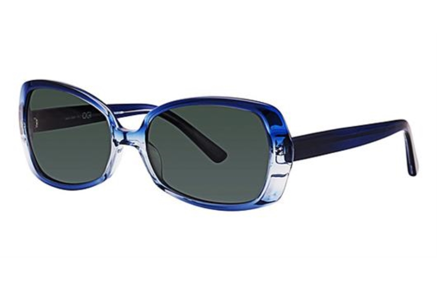OGI Eyewear 8049 Sunglasses in 1283 - BLUE GRADIENT/ROYAL BLUE