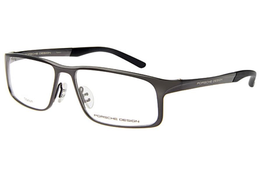 238a5b180711 Porsche Design P 8165 Eyeglasses in D Black ...