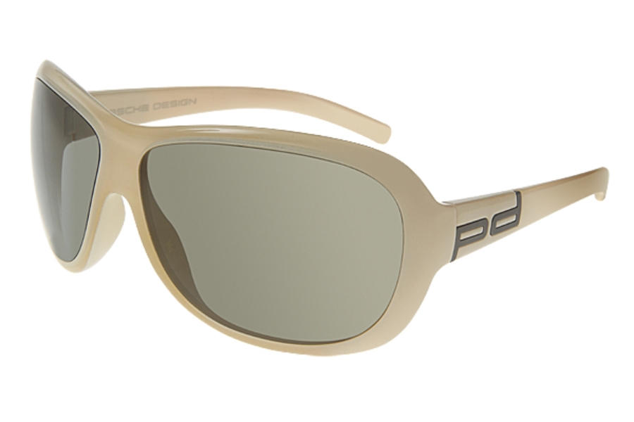 4e167221e8e0 ... Porsche Design P 8520 Sunglasses in C) Off White w Gray ...