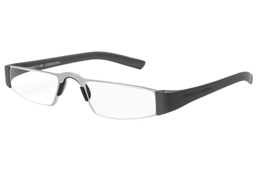 Porsche Reading Tool P 8801 Eyeglasses in (F) Gun Metal, Silver