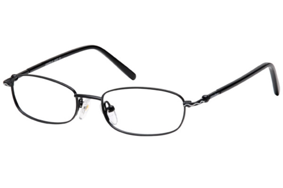 Amadeus AK22 Eyeglasses in MBK MATTE BLACK