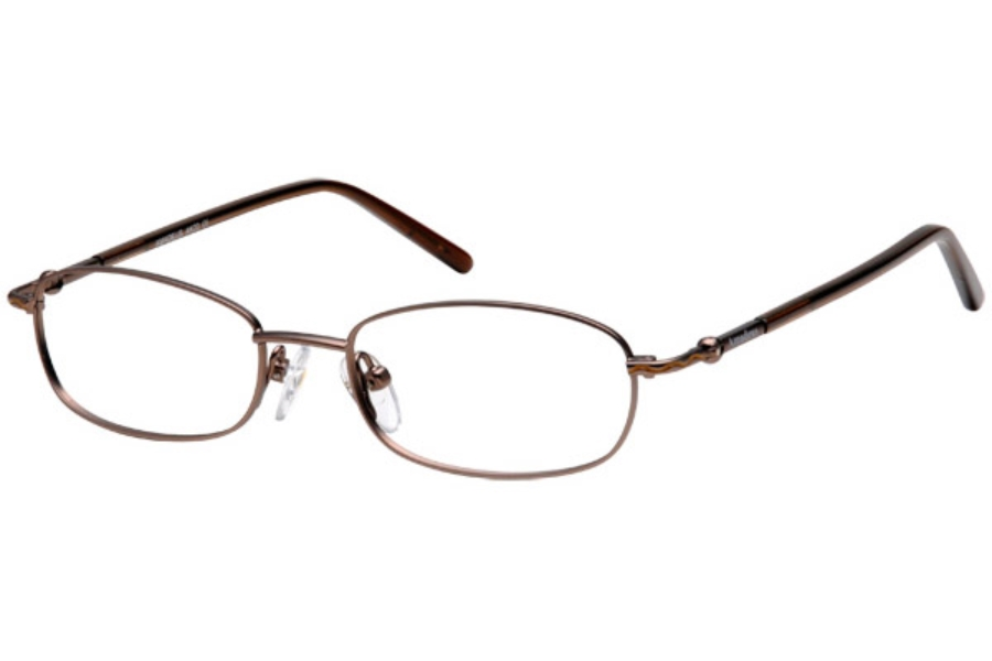 Amadeus AK22 Eyeglasses in MBR MATTE BROWN