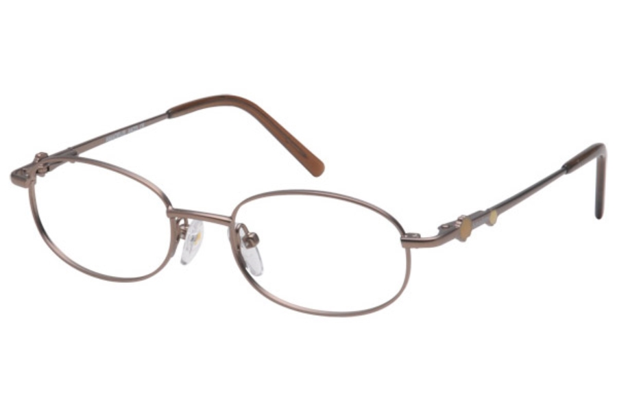 Amadeus AK23 Eyeglasses in Matte Brown