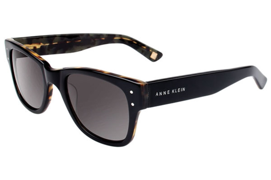 Anne Klein AK7004 Sunglasses in 001 Black Tortoise / Grey Lenses