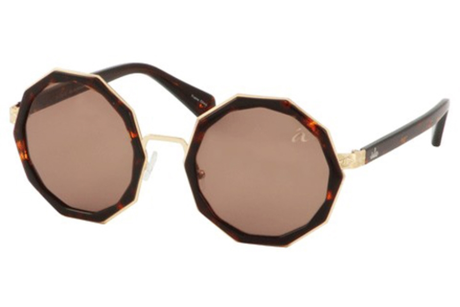 Ale by Alessandra ALE 4008 Sunglasses in Demi/Gold