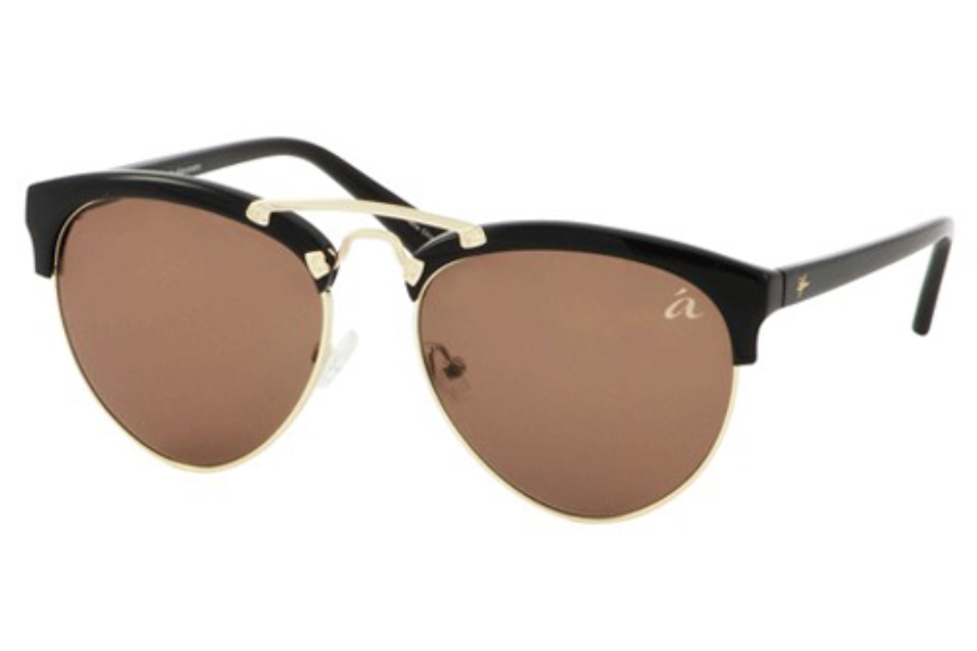 Ale by Alessandra ALE 4010 Sunglasses in Black/Gold
