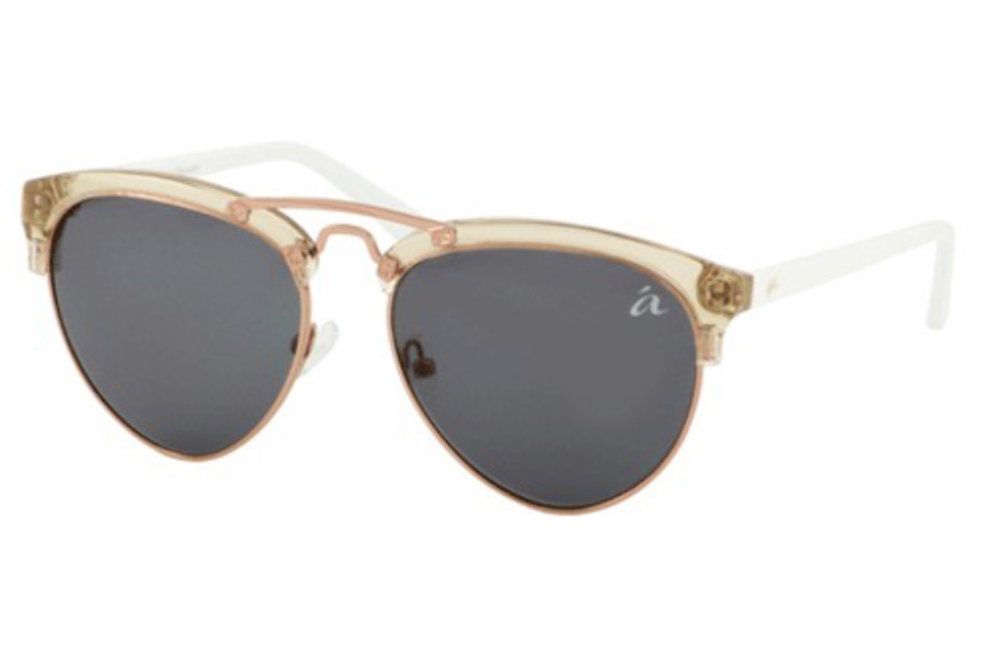 Ale by Alessandra ALE 4010 Sunglasses in Beige/Rose Gold