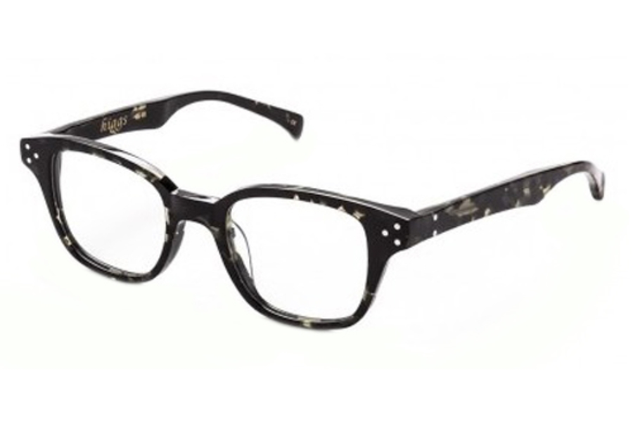 AM Eyewear Higgs Eyeglasses in Dark Demi