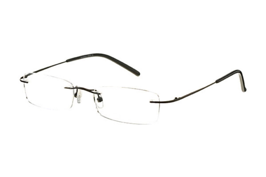 Amadeus AR45 Eyeglasses in MBK Matte Black