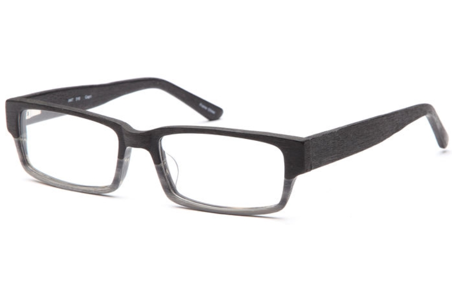 Artistik ART 310 Eyeglasses in Black Wood