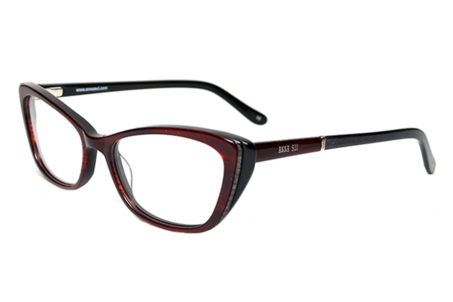 Anna Sui AS660 Eyeglasses in Red