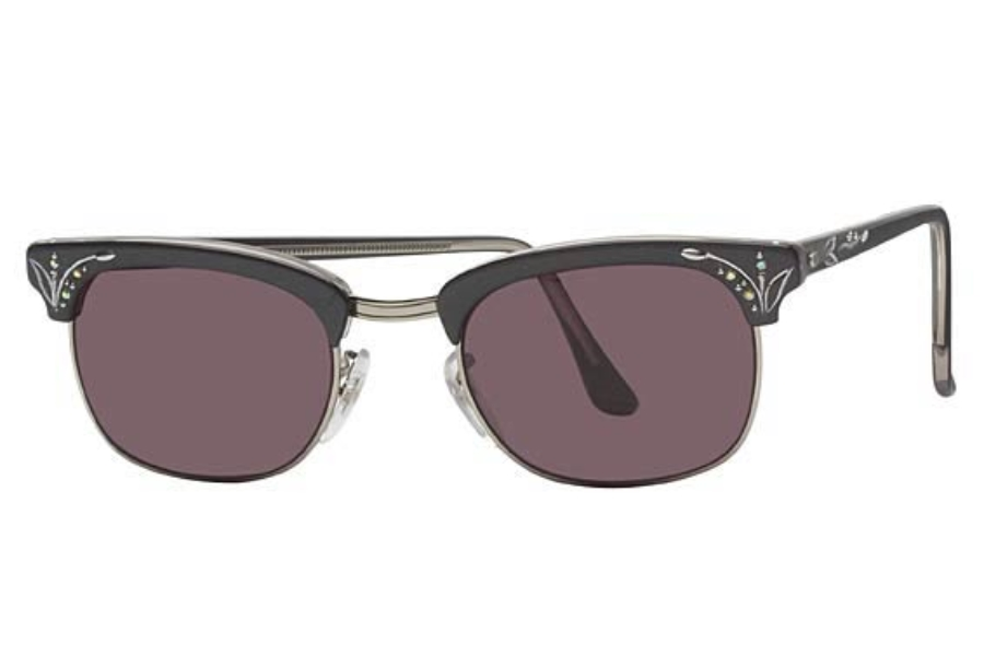 Shuron Sun Jewels Sunglasses in Ocean Grey w/Grey Lenses
