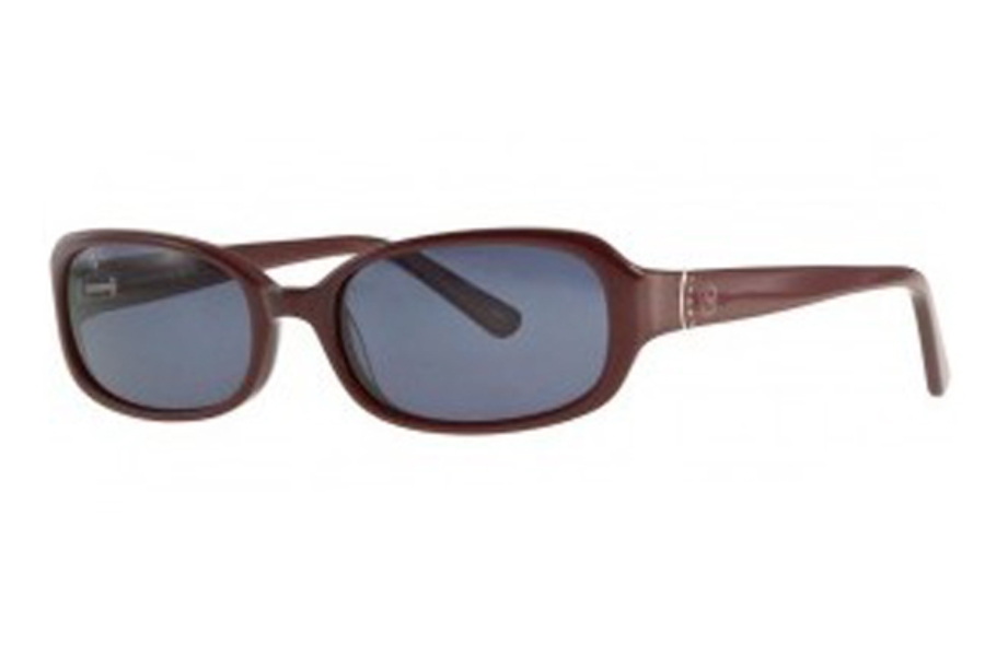 Adrienne Vittadini Studio AVS 114 Sunglasses in Red