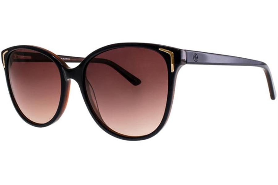 29766741b9780 Adrienne Vittadini Studio AVS 130 Sunglasses in Blue Red ...