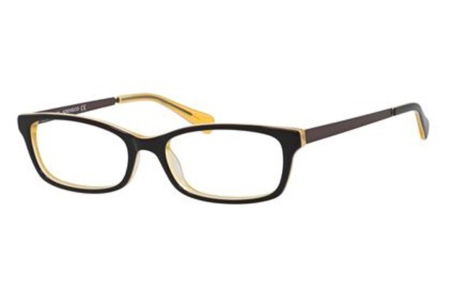 Adensco ADENSCO 213 Eyeglasses in 0GLN Brown Yellow