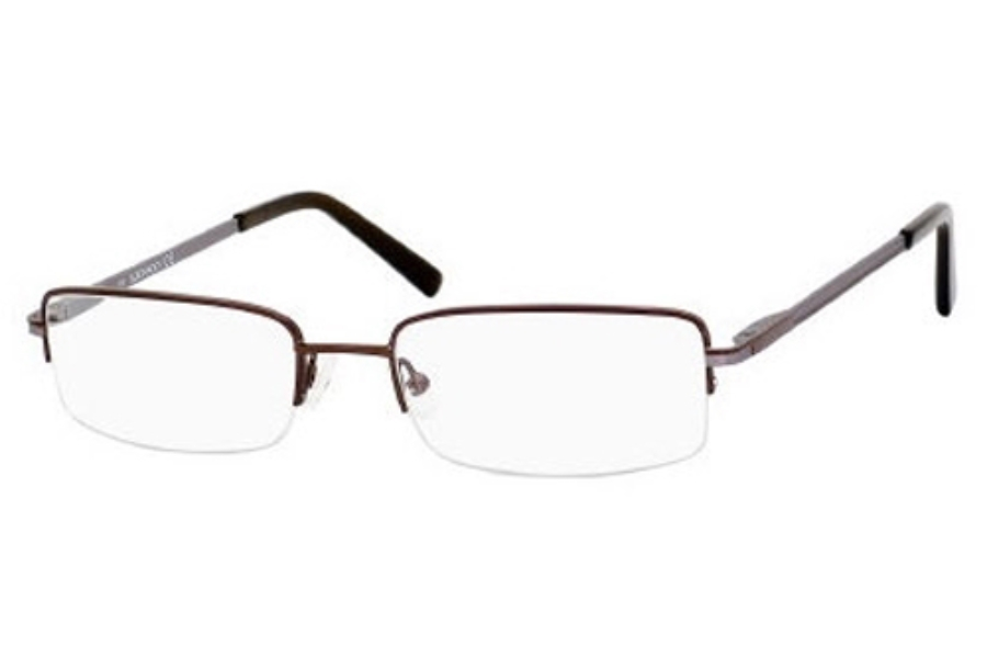 Adensco ROB Eyeglasses in 0DF1 Brown Gunmetal