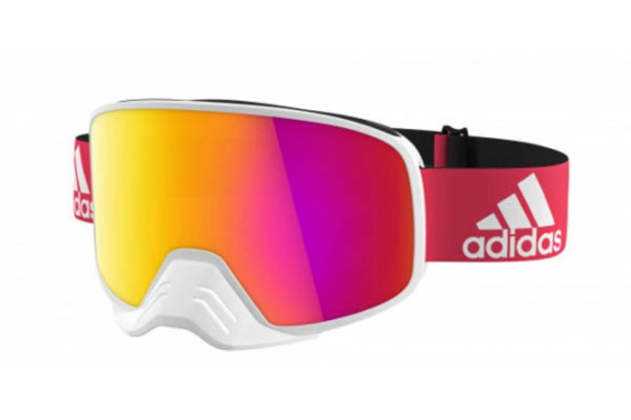 Adidas ad84 Backland Dirt Goggles Goggles in 1600 White