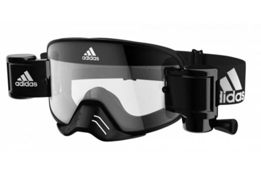 Adidas ad84 Backland Dirt Goggles Goggles in 9400 Black