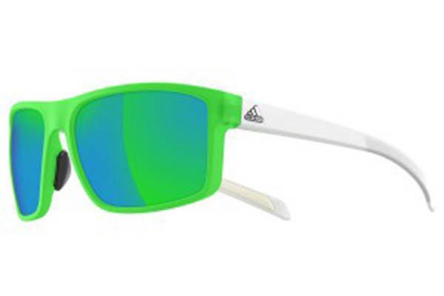 Adidas Whipstart A42300 6152 Granite Matte//Chrome Sunglasses