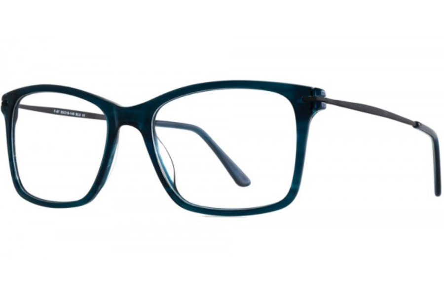 Aero F67 Eyeglasses in Blue