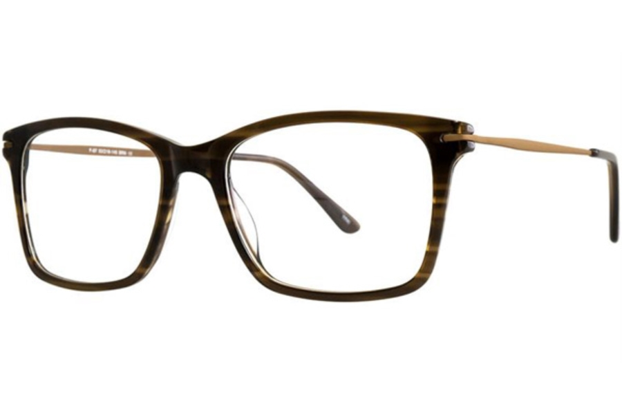 Aero F67 Eyeglasses in Brown