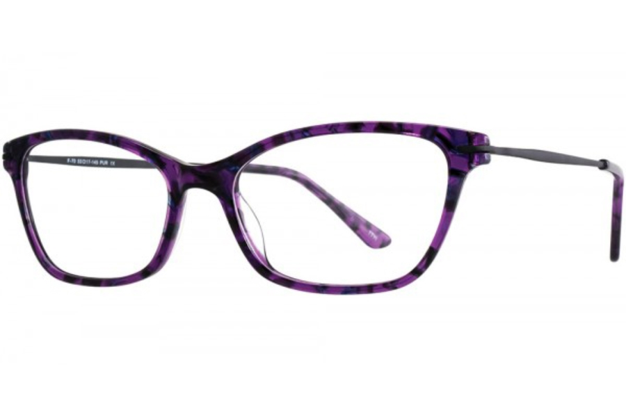 Aero F70 Eyeglasses in Purple